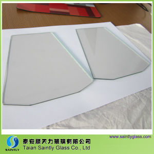 3.2mm Tempered Coated Low-E Glass for Oven with Arrissed/Seamed Edge pictures & photos