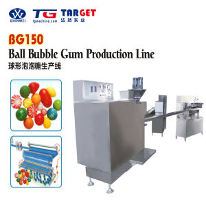 Multi-Fuctional Colorful Ball Bubble Gum Production Line for Sale with Ce Certification pictures & photos