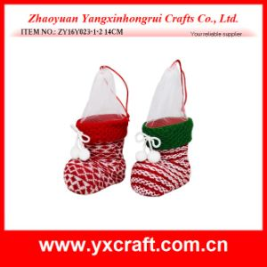 Christmas Decoration (ZY16Y023-1-2 14CM) Christmas Fruit Container pictures & photos