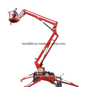 Hydraulic trailer aerial work boom lift for sale pictures & photos