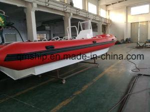 New Model Aluminium Inflatable Rubber Rib Boat pictures & photos