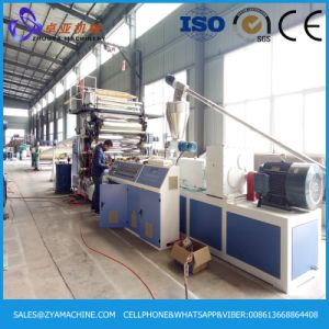 2440*1220mm PVC Artificial Marble Board Making Machine pictures & photos