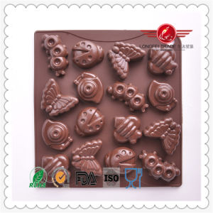 Magnetic Insect Silicone Chocolate Mould pictures & photos