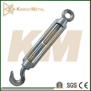 Galvanized Drop Forged / Commercial Type Turnbuckle (DIN1480) pictures & photos