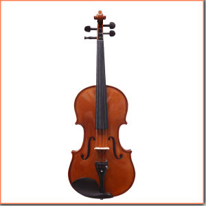 Handmade Glossy Germany Style Flamed Violin pictures & photos