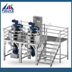 Guangzhou Fuluke 200L, 500L Stainless Steel Gel Mixing Tank pictures & photos