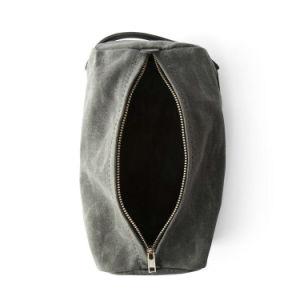 Custom Mens Shaving Kit Bag Waxed Canvas Dopp Kits Travel Toiletry Bag pictures & photos