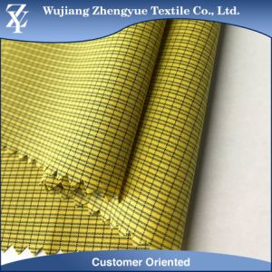 Waterproof 4 Way Stretch Nylon Polyester Elastane Stripe Fabric for Women Pants, Garment pictures & photos