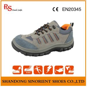 Good Quality Safety Shoes, Suede Leather Summer Safety Shoes RS011 pictures & photos