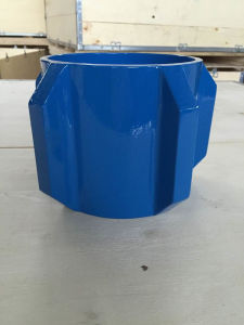 Cast Steel Straight Blade Set Screw Solid Body Centralizer pictures & photos