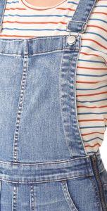 Undone Cuffs Ladies Skinny Denim Overalls pictures & photos