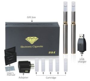 Slim Green Electronic Cigarette 510-X