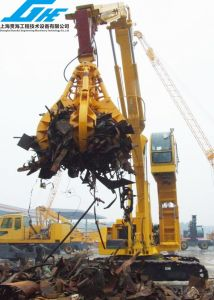 Excavator Hydraulic Multi-Peel Grab for Handling Scrap Metal, Waste Lump and Lump Products pictures & photos