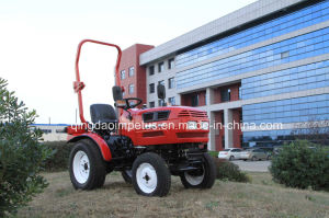 Mini Tractor 16HP, 4X4wd with Turf Tires pictures & photos