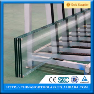 CCC/En12150/SGCC/Bsi/Csi Certificate 2mm-22mm Flat/Curved Clear or Euro Grey Tempered Glass pictures & photos