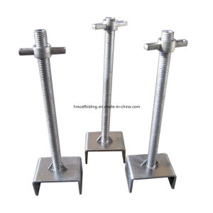 Scaffold Adjustable Screw Jack Base F001 pictures & photos