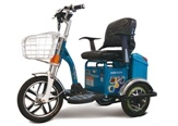 Wuzheng Three Wheel Electric Motorcycle (KX04PA) pictures & photos