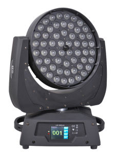 56X10W RGBW 4-in-1 LED Zoom Movng Head Light pictures & photos