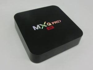 Smart TV Box Android Mxq PRO with Amlogic S905 Kodi 16.1 pictures & photos