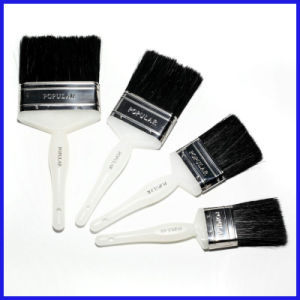 Black Bristle Plastic Handle Paint Brush pictures & photos