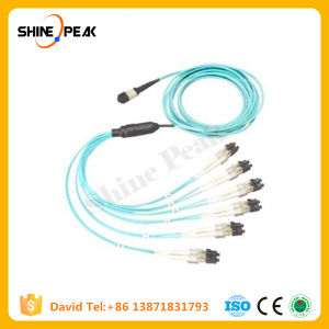 MPO MTP Patchcords with 4 8 12 16 24 Cores pictures & photos