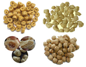 High Quality Automatic Soya Nuggets Making Machinery pictures & photos