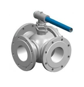 Manual Operation Four Ways Thread Ball Valve pictures & photos