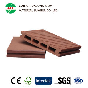 Waterproof WPC Decking with CE, SGS Certification (HLM110) pictures & photos