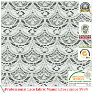 100% Polyester Lace Fabric for Lady Garments