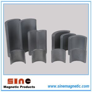 Arc Shaped Permanent Hard Ferrite Magnet pictures & photos