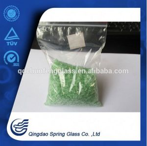 Crushed Green Glass Particles pictures & photos