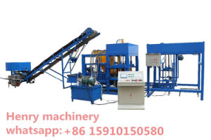 Qt4-20 Automatic Cement Brick Making Machine Concrete Hollow Paver Block Making Machine pictures & photos