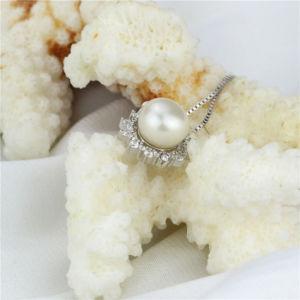 Flower Shape Elegant Deisgn Lady Single Pearl Pendant pictures & photos