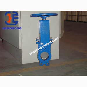 DIN/API6d Cast Iron Lug Water Knife Gate Valve