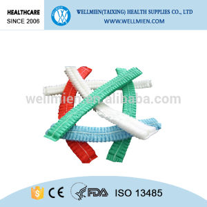 Surgical Nonwoven Clip Cap Healthcare Protective Cap pictures & photos