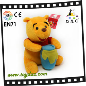 Yellow Plush Weini Bear Toy (TPJR0143) pictures & photos
