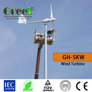 Hawt System 5kw Horizontal Wind Turbine with Ce pictures & photos