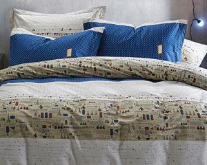 100% Cotton Blue Cute Bedding Set (T50) pictures & photos