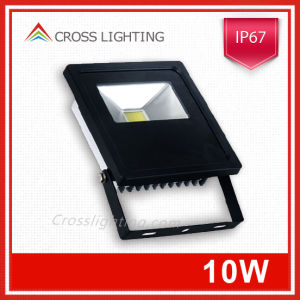 China Manufacturer Taiwan Epistar IP67 10W LED Flood Light