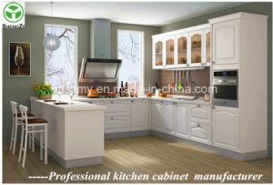 Special Made Modern Design European White Kitchen Cabinet pictures & photos