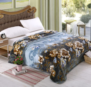 Sr-F170305-4 High Quality Two Side 100% Polyester Printed Flannel Fabric pictures & photos