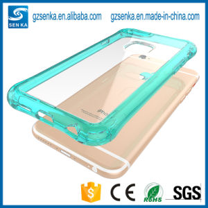Transparent Protective Phone Case for iPhone 6/6s Plus Shocproof Shell pictures & photos
