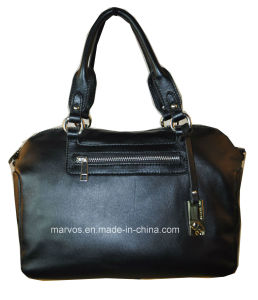 Fashion Ladies PU Leather Tote Bag with Hight Quality (M10439)