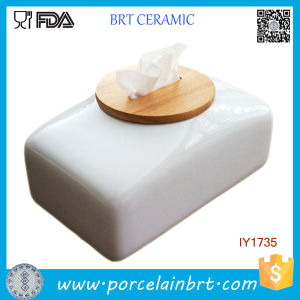 High Quality Tissue Box Ceramic Tissue Holder Home Decor pictures & photos