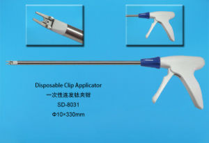 Disposable Clip Applier / Disposable Laparoscopic Clip Applier with Clip Inner for Surgical pictures & photos