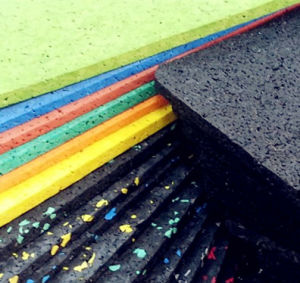 The Manufacturer of Professional Cheap Rubber Tile Floor for Indoor/Outdoor Gym/Fitness Club pictures & photos