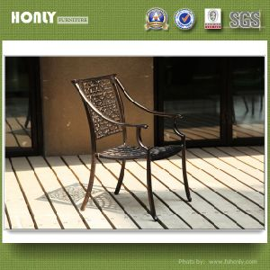 Modern Waterproof Metal Garden Chair Outdoor Stackable Aluminium Garden Chair