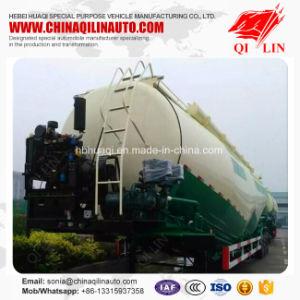 Qilin 50cbm Double Compartment Bulk Cement Powder Tanker Trailer pictures & photos
