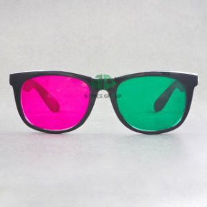 Plastic Green Magenta 3D Glasses (SN3D 028P2)