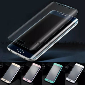 Full Screen 3D Curved 9h Tempered Glass Screen Protector for Samsung Galaxy S6 Edge Plus pictures & photos